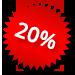 Korting 20%