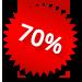 Korting 70%