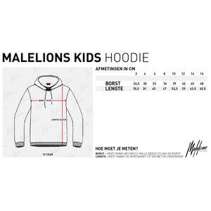 Malelions Captain Hoodie Black-Black met gratis pet