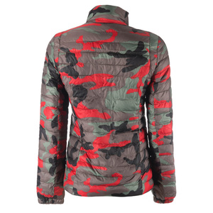 Airforce Girls Jacket Camo Cherry Red