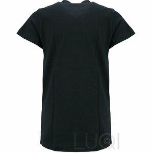 Balmain Shirt zwart met rond logo