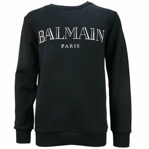 Balmain sweater zwart met zilveren print