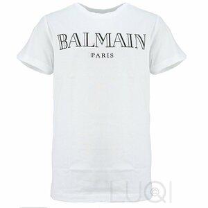 Balmain Logo T-Shirt Wit