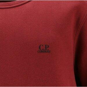 CP Company Crew Neck Plain Rood