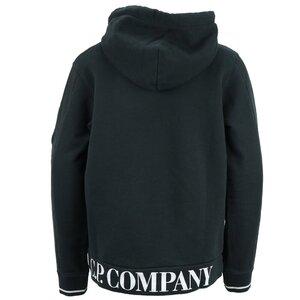 CP Company Sweat hoody zwart 10CKSS066