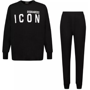 Dsquared2 Pyjama DQ0617 Icon Zwart