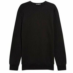 CP Company Diagonal Raised Sweater Black