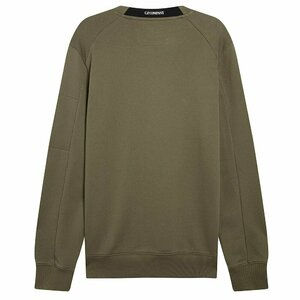 CP Company Diagonal Raised Sweater Dusty Olive