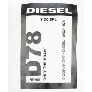 Diesel TFULL78 Shirt Wit