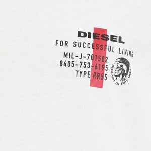 Diesel UMLT-TDIEGOS Shirt Wit