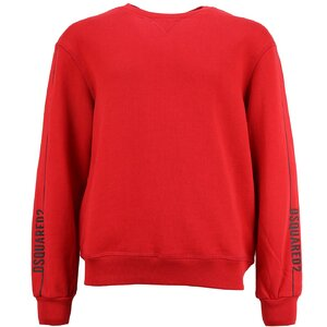 Dsquared2 Sweater rood DQ0648 relax fit