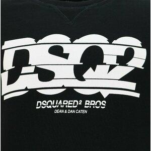 Dsquared2 Sweater Zwart Wit DSQ2