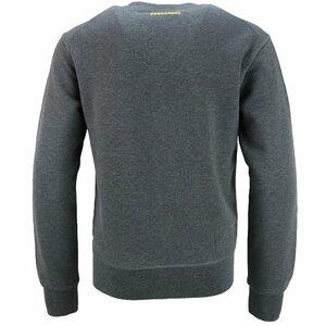 Dsquared2 Icon Sweater Grijs met gele opdruk