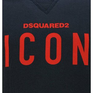 Dsquared2 Icon Sweater Blauw - Rood