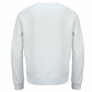 Dsquared2 Sweater Relax Fit Wit Rood