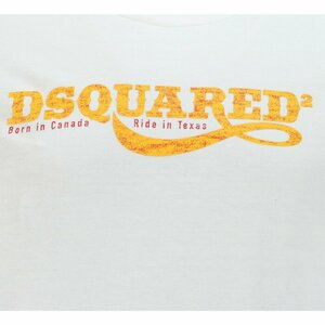 Dsquared2 Shirt Wit Texas