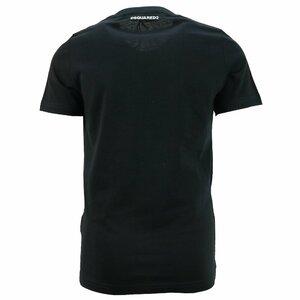 Dsquared2 Shirt Zwart Maple Leaf