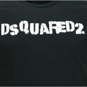 Dsquared2 Shirt Zwart met Logoprint