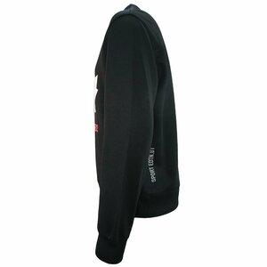 Dsquared2 Sweater Sport Zwart Wit Maple