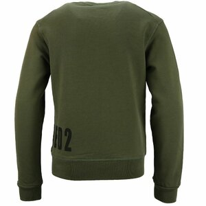 Dsquared2 Sweater Groen Logo