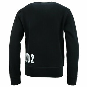 Dsquared2 Sweater Zwart Logo