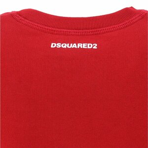 Dsquared2 Sweater Rood met wit logo