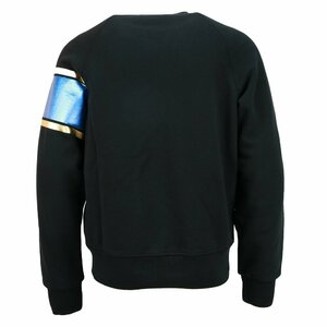 Dsquared2 Sweater Zwart met metal Print