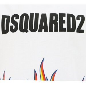Dsquared2 shirt Wit DQ0198 Relax Fit