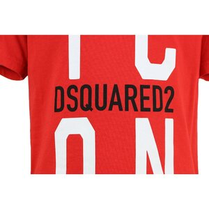 Dsquared2 Icon shirt Rood DQ0243 Relax Fit