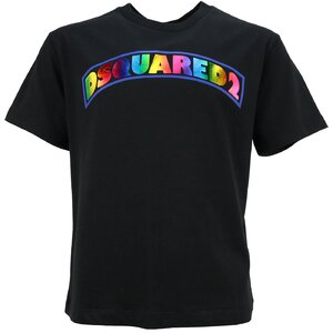 Dsquared2 Shirt Girls zwart DQ0181