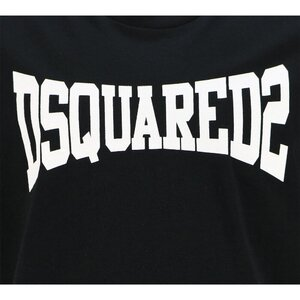 Dsquared2 Shirt DQ0156 Zwart Oversized Fit