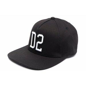 Dsquared2 Pet Zwart met geborduurd logo DQ0450