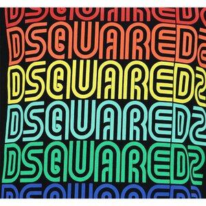 Dsquared2 shirt Zwart DQ0189 Relax Fit