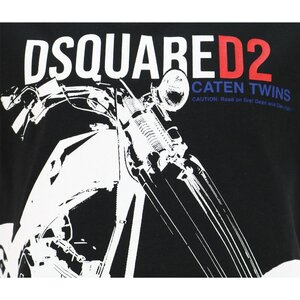 Dsquared2 shirt Zwart DQ0154 Relax Fit