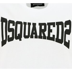 Dsquared2 Shirt DQ0156 Wit Oversized Fit
