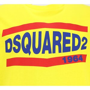 Dsquared2 Shirt 1964 Geel relax fit