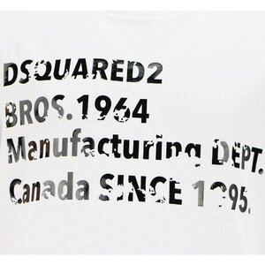 Dsquared2 shirt Wit DQ0149 Relax Fit
