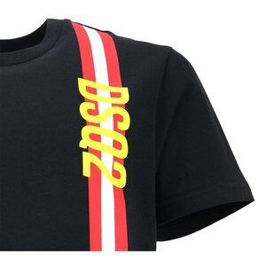 Dsquared2 Shirt DQ0192 zwart relax fit