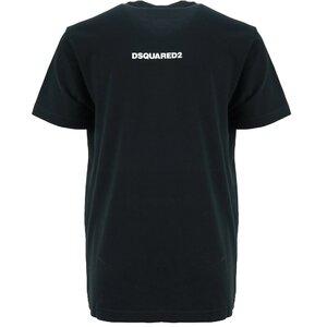 Dsquared shirt D25 Zwart Relax Fit