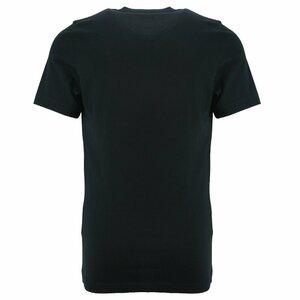Dsquared2 Shirt zwart met verticaal logo wit