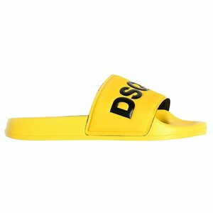 Dsquared² Badslippers Geel