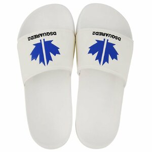 Dsquared² Badslippers Wit