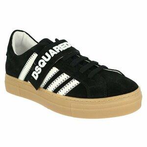 Dsquared2 Sneakers Suede Zwart