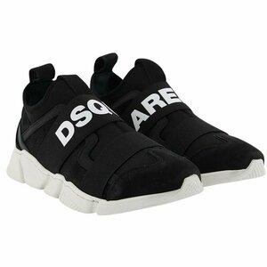 Dsquared2 Sneakers zwart met logo