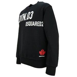 Dsquared2 Sweater Sport Prints Zwart Cool Fit