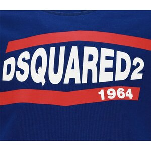 Dsquared2 Sweater 1964 Blauw relax fit