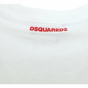 Dsquared2 Shirt Wit Maple Leaf