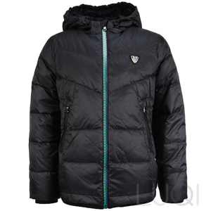 EA7 Armani Down Jacket Black