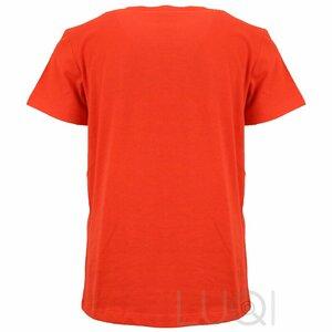 EA7 Logo Shirt Orange
