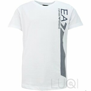 EA7 Logo Shirt Wit